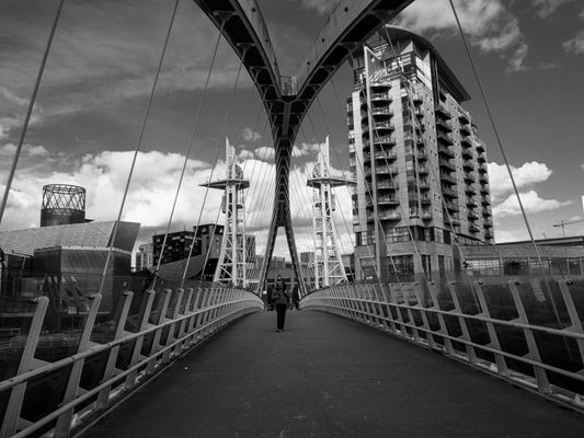 Bridge on the Manchester Ship Canal