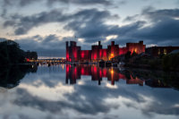 Castell Caernarfon Castle Euros 2016