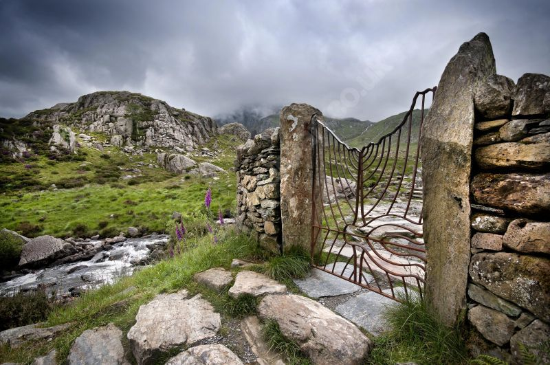 Giat Llyn Idwal Gate