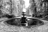 Glynllifon fountain