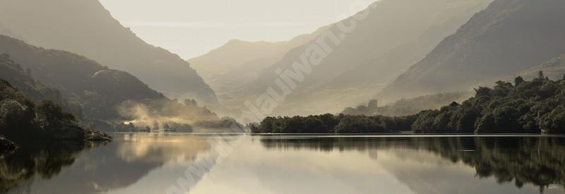 Castell Dolbadarn, Llyn Padarn