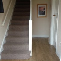 Hallway of 34 Ashleigh Drive 4 bed Loughborough student accommodation.