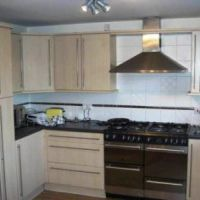 Modern kitchen in 18 Wren Close, great Loughborough Kingfisher student let.