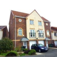 Wheel Tappers Way, modern 3-storey house situated in the Golden Triangle, close to town.