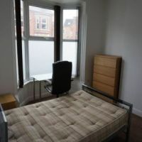 Typical nice bedroom of 56 Broad Street Loughborough student house.
