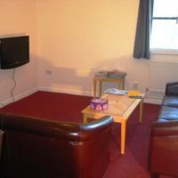 Living room in Towles Mill, Loughborough town centre/train station 6 bed houses to rent to groups of six. Great cheap student accommodation.
