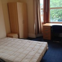Double bedroom in 31 Storer Road Loughborough 8 bed student house.