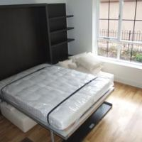 Apartments to let to students or professionals with benefit of an additional built-in double bed ideal for guests in the living area of the duplex apartments.