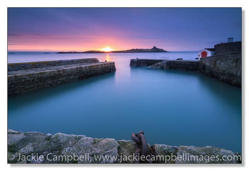 Coliemore harbour sunrise