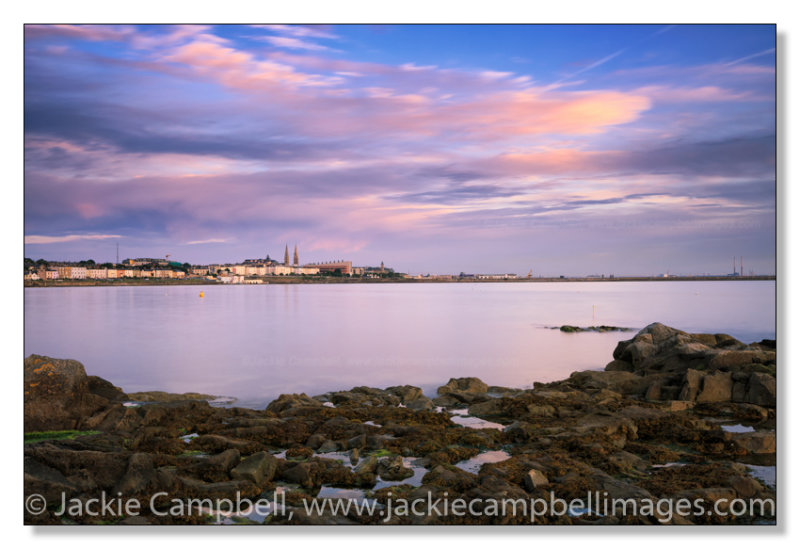 Looking back at Dun Laoghaire, Dublin