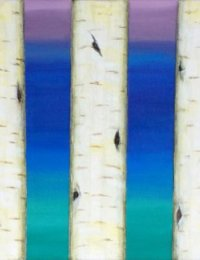 Birches by Bluebell Wood