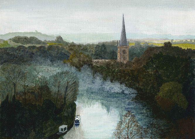 Smoky river- Stratford on Avon 2013
