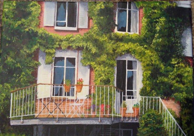 Rouen balcony 2017