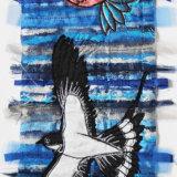 humming bird and swallow
