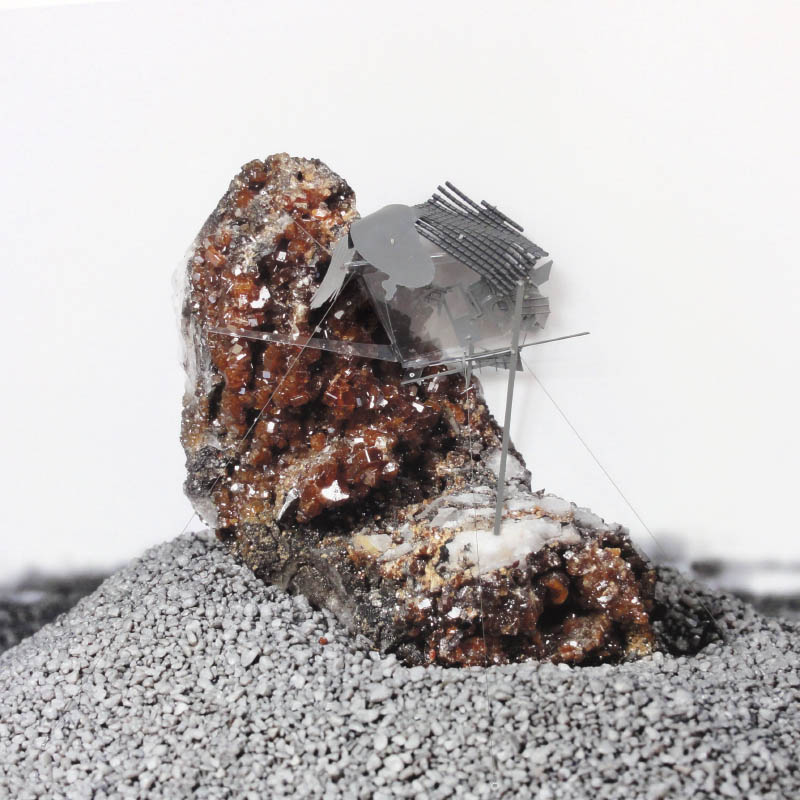 Radiances (Maroccan vanadite with metabolized reverbs), 2011
