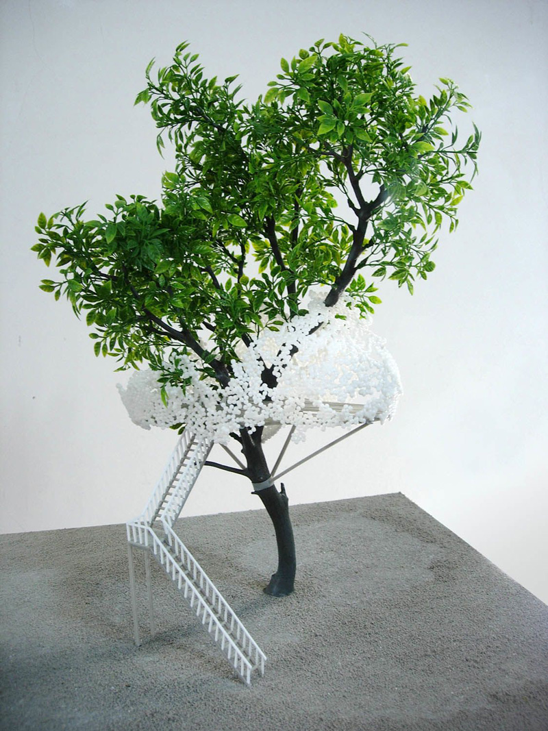 The Monologue Sites (Space Filling Polyhedra, model I) 2005