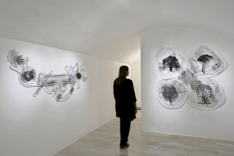 exhibition view The arbitrary rules, 2011