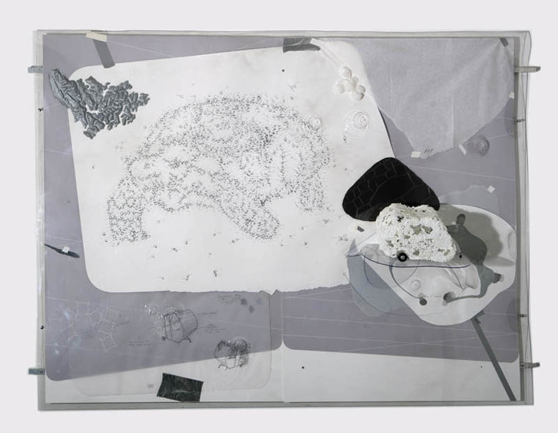 The Monologue Drawings (projects for Cloudless III), 2007