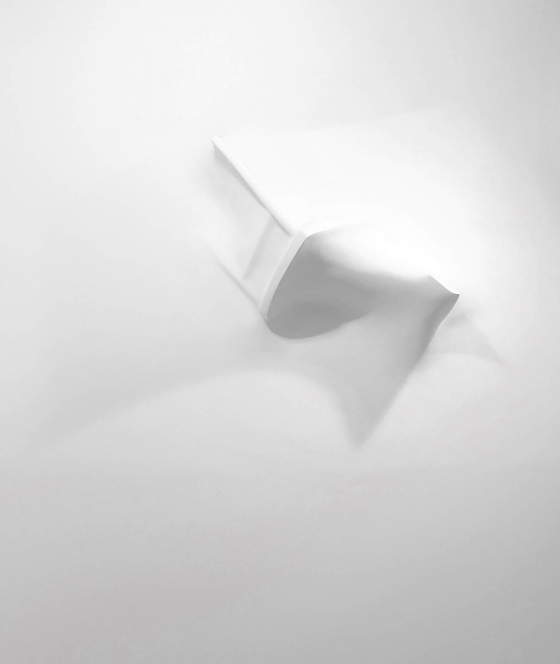 Gaps (extruded chair I), 2006