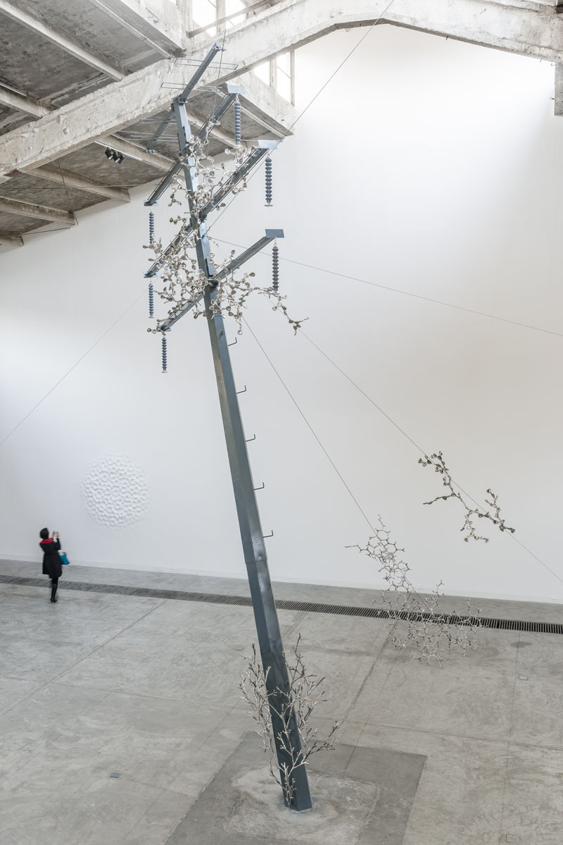 Loris Cecchini exhibition view, 2013