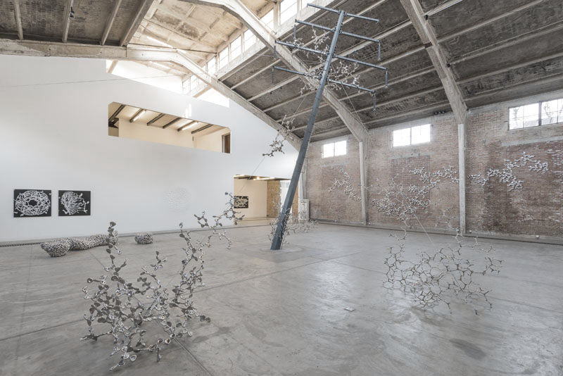 """Loris Cecchini"" exhibition view, 2013"