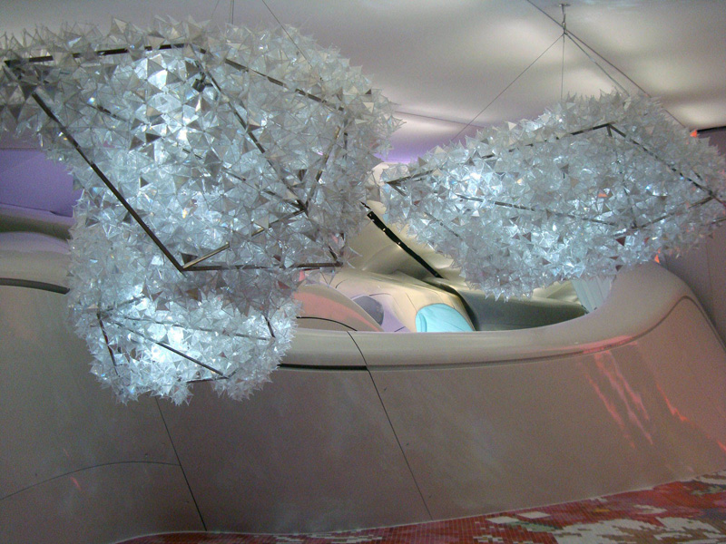 Floating Crystals (incoherent extensive formations for my deepest vibrations), 2007-2008