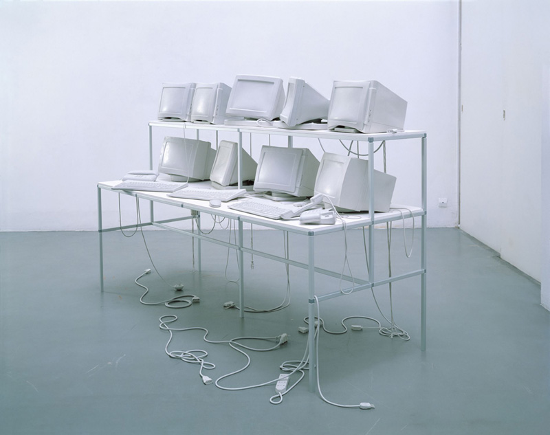Stage evidence (untitled), 2001