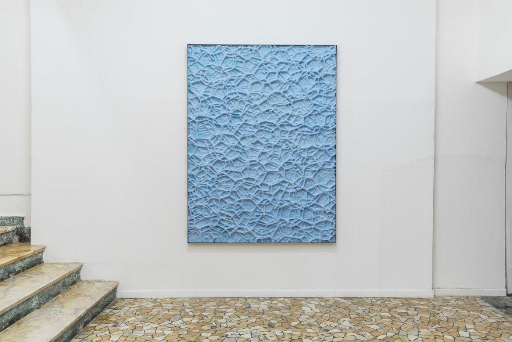 graph reliefs (Aluminium Foam), 2018,
