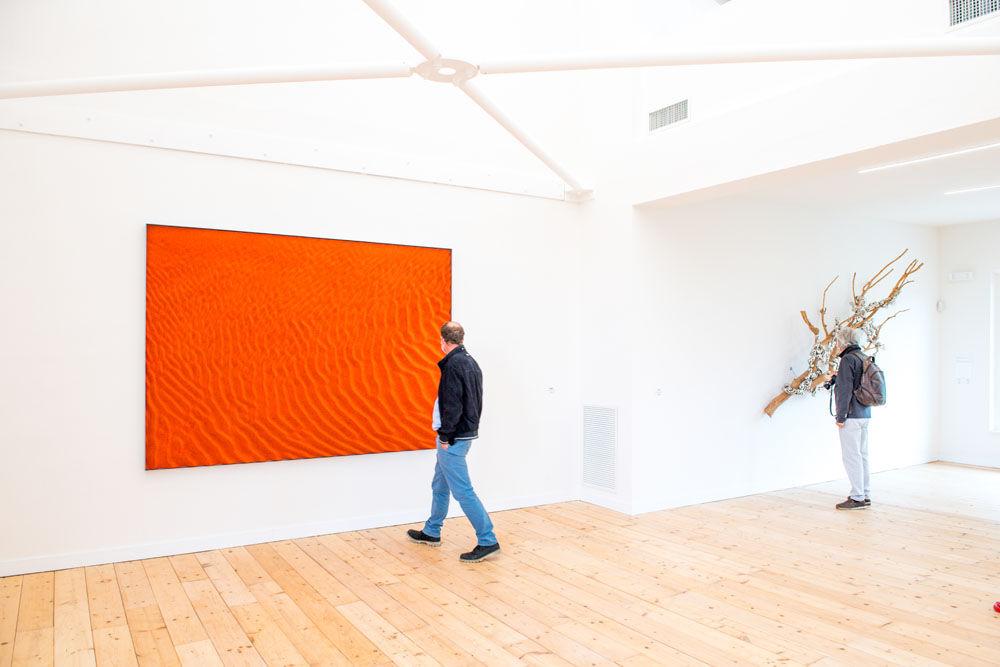 Loris Cecchini, exhibition view