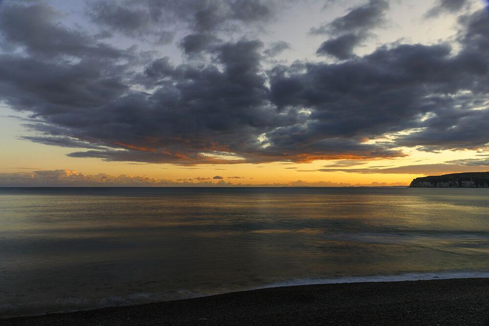 Axmouth Beach, Evening