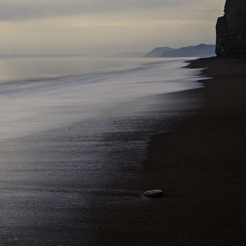 Burton Bradstock Beach, Night