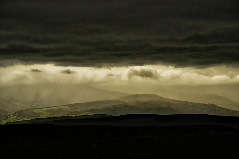 Rain on the Hills