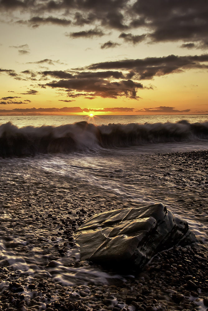 Falling Tide at Sunset, Eype