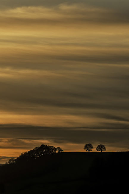 Warren Hill sunset