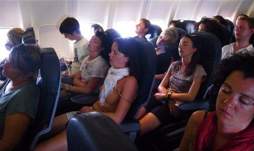 FLIGHT HOME FROM IBIZA