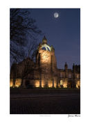 Kings College by moonlight