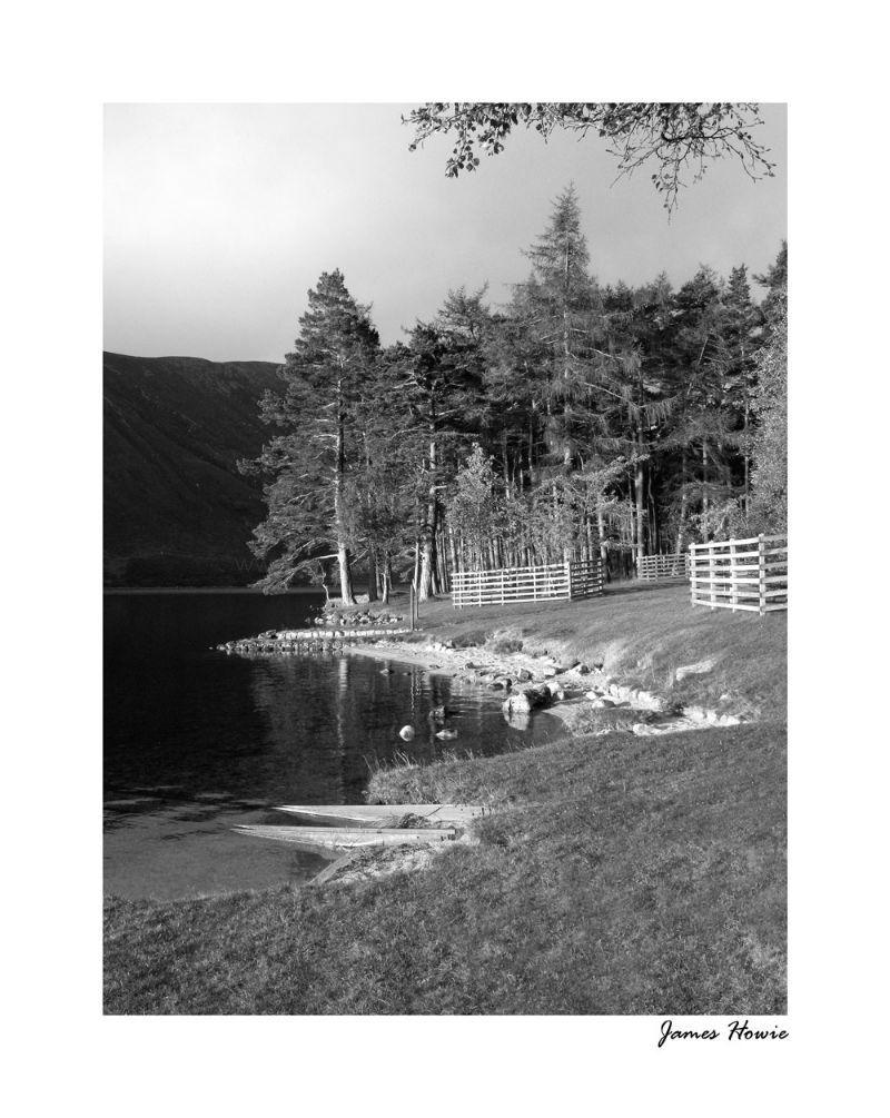 Loch Muick B&W