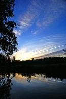 River Wey sunset