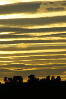Sunset over Farncombe Hill