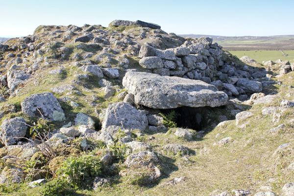 Chapel Carn Brea Entrance Grave