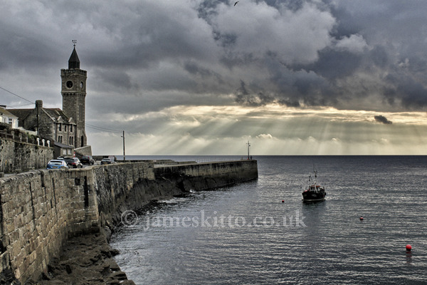 Evening light, Porthleven