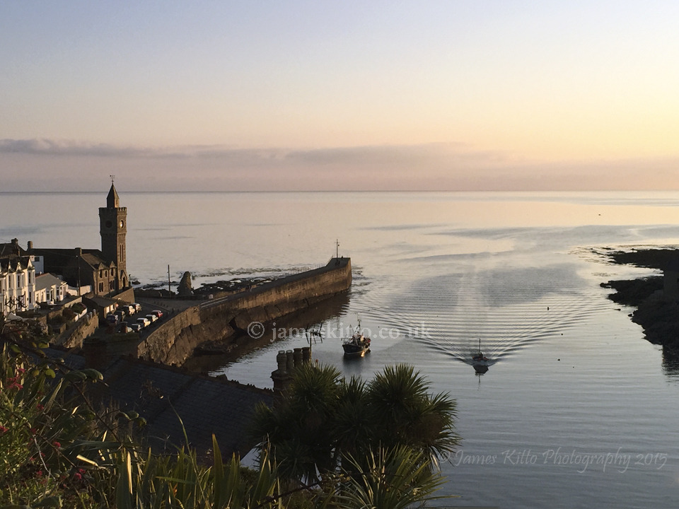 'When the boat comes in', Porthleven
