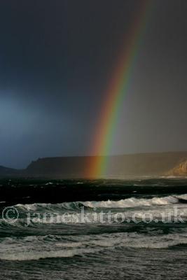 Rainbow, Sennen Cove