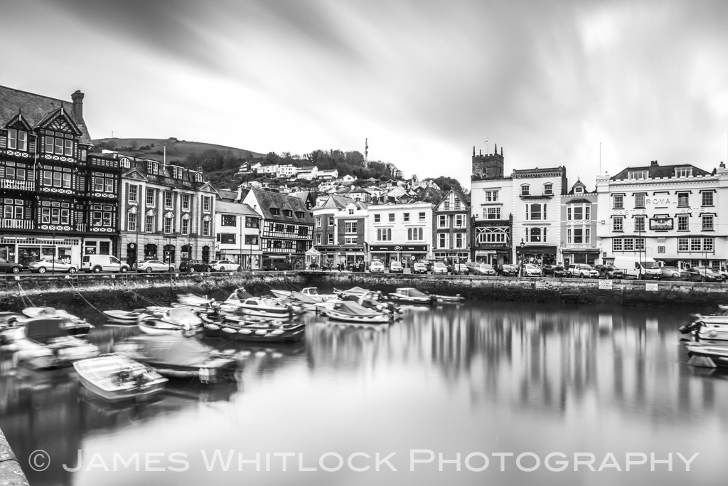 Black Dartmouth Harbour