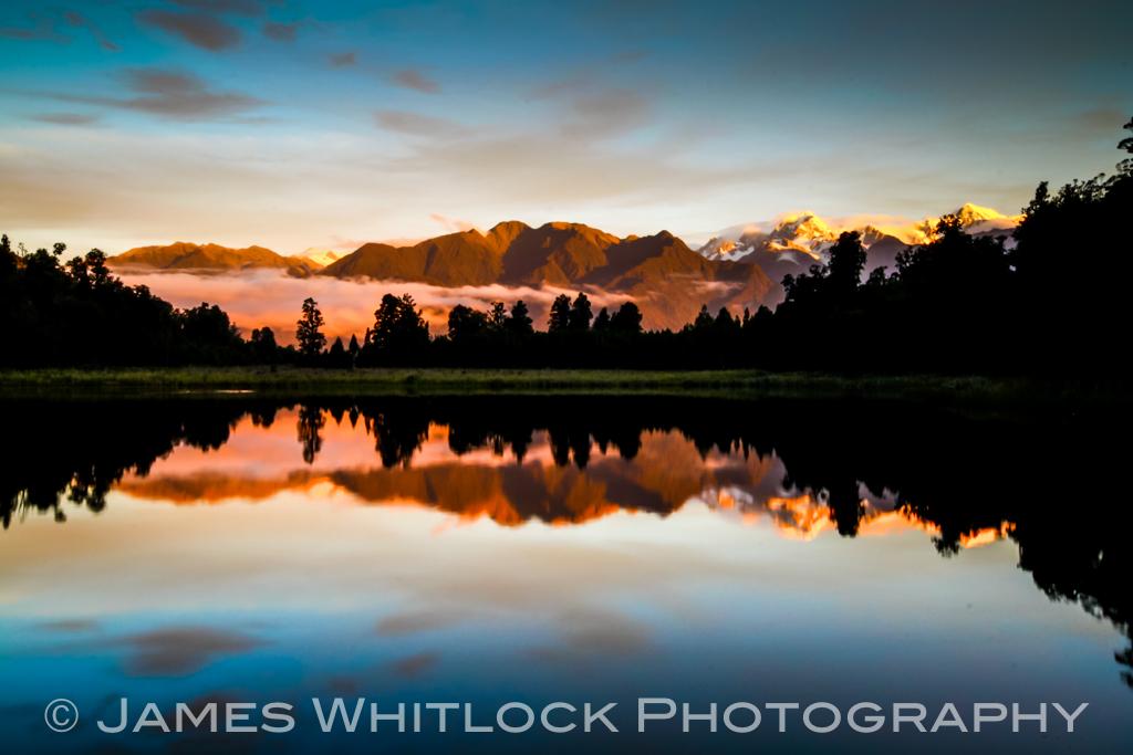 Mood of Lake Matheson