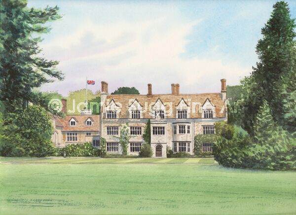 Anglesey Abbey 2, 297mm x 210mm