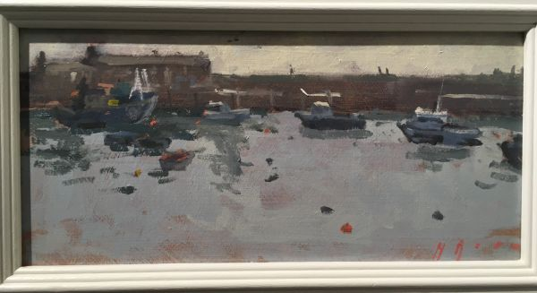 Fishing Boats, Maria Rose, Oils on panel, £325