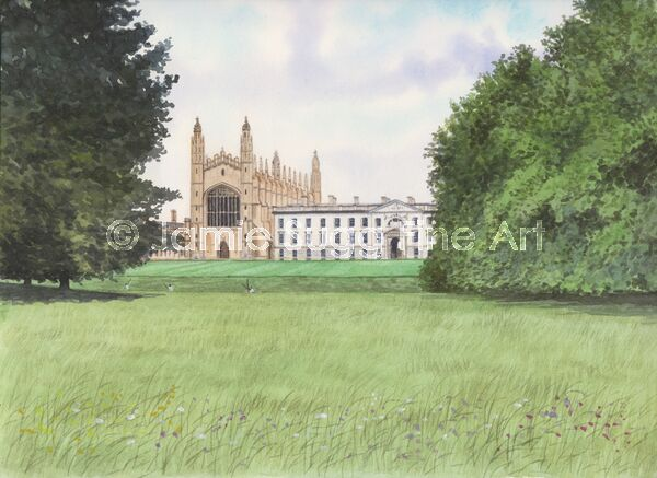 Kings College Chapel, 297mm x 210mm