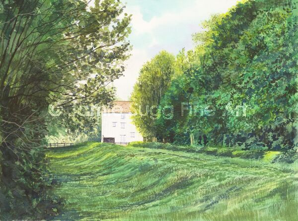 Lode Mill, Anglesey Abbey, 297mm x 210mm