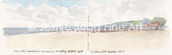 Mundesley Beach Sketch
